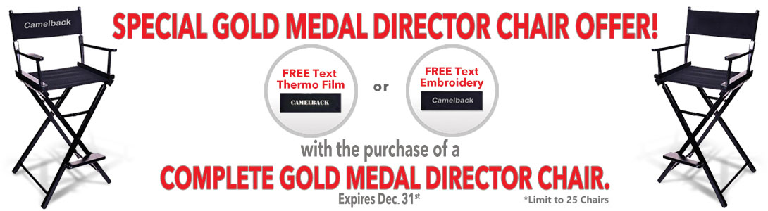 Gold Director Chairs 2020 Special Offers