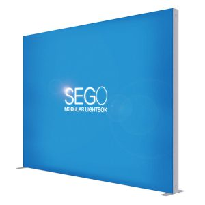 10′ x 7.5′ SEGO Modular Lightbox Exhibit Display