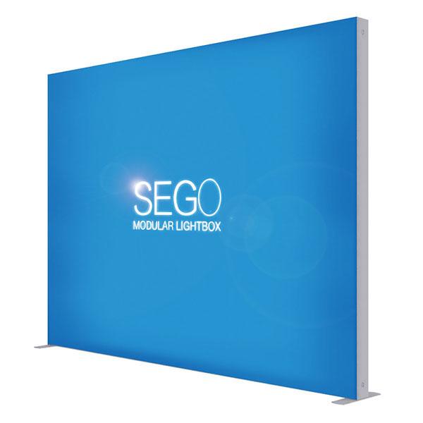 10′ x 7.5′ SEGO Modular Lightbox Exhibit Display