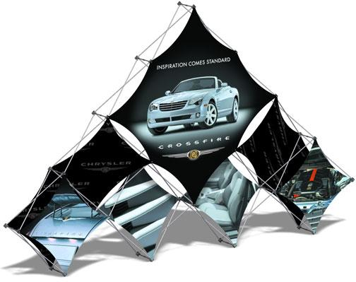 Triangle 3-D Pop Up Displays