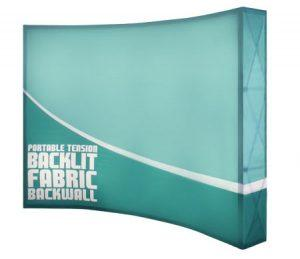 Backlit Fabric Backwall Displays