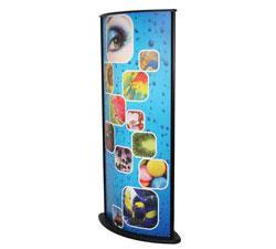 Backlit Advertising Tower