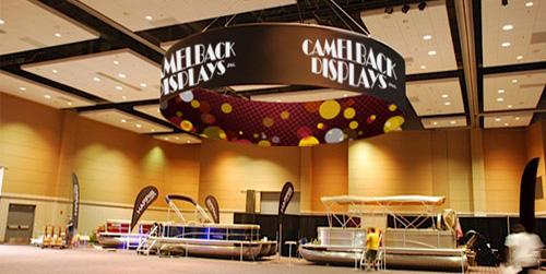 Trade Show Hanging Displays & Signs