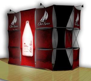 Backlit 3D Pop Up Exhibits