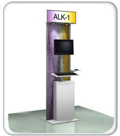 Alumalinte Monitor Kiosk Holders