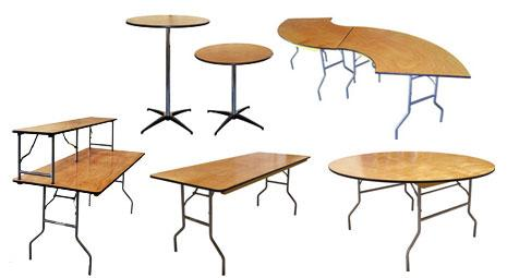 CT Banquet Tables