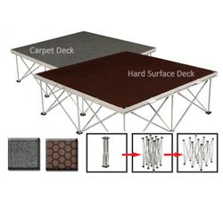 DURO DECK COLLAPSIBLE STAGESes