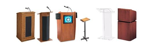 Lecterns, Podiums, Presentation Stands