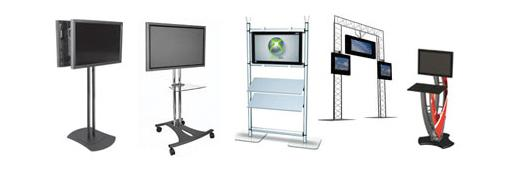 Portable Monitor Stands and Monitor Kiosks