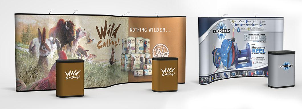 Custom Branded Pop up Displays