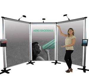 Aero Banner Stand Displays