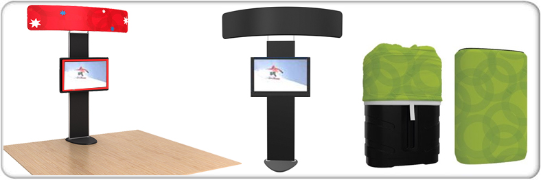brandstand standroid stand alone display