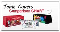 table covers comparision chart