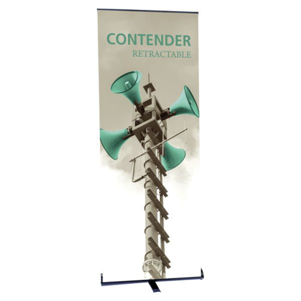 Contender Retractable Banner Stand