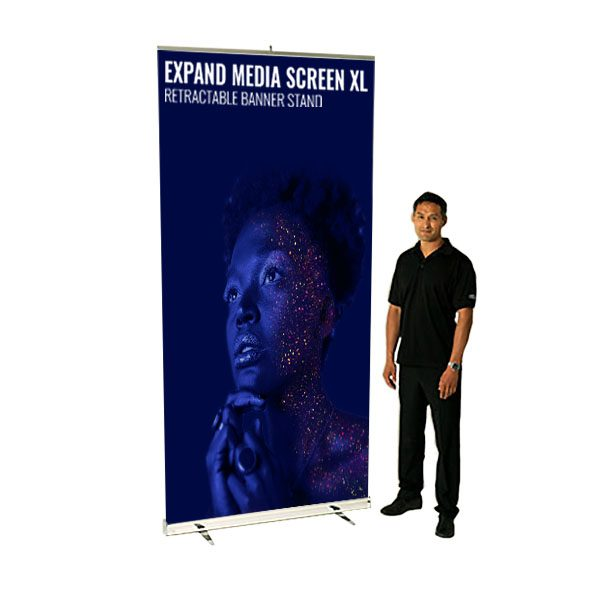 Expand Media Screen XL - Retractable Banner Stand