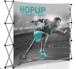 Hop Up 10 ft curved display