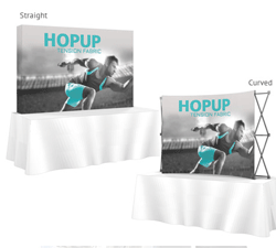 Table Top Hop Up Trade Show Display
