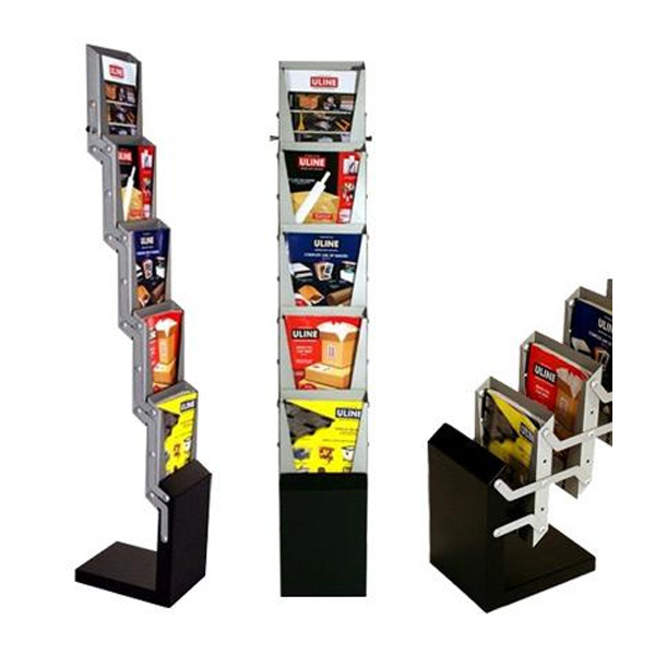 5 Step Literature Rack, literature rack, literature holder, literature stand, brochure rack, brochure holder, brochure stand