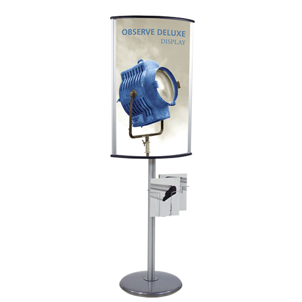 Observe Deluxe Display Sign Holder