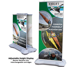 outdoor banner signs