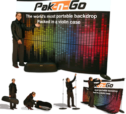 Pak-N-Go Exhibit Displays