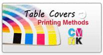 table covers printing methods