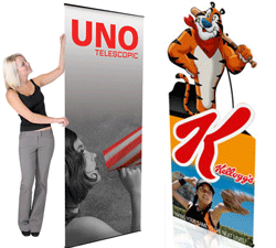 non retractable display banners