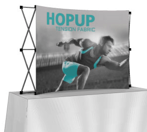 Hop Up Table Top Exhibit