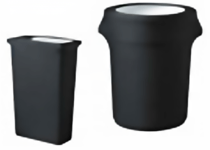contour trash can covers