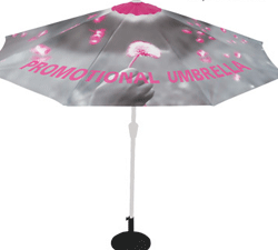 umbrella displays