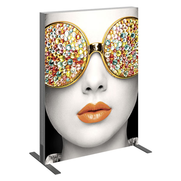 Vector Frame Light Box Rectangle 01 Fabric Banner Display