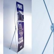 X1 Banner Stand Frame