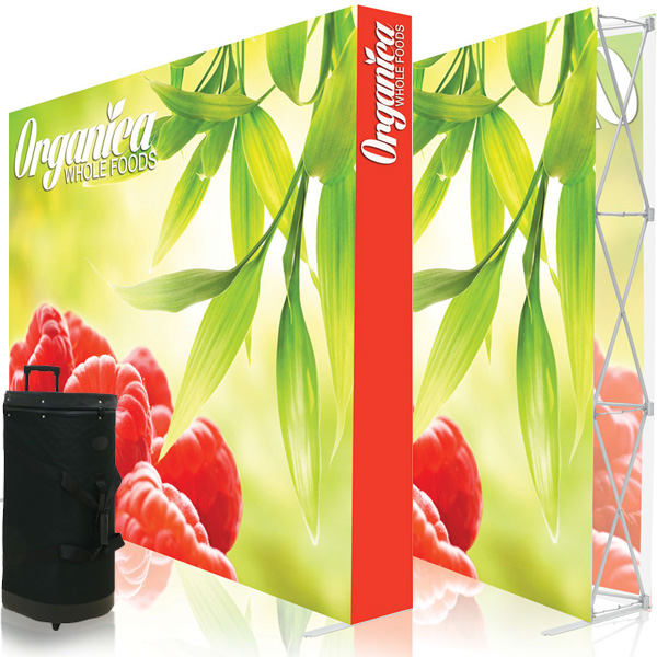 Ready Pop 10FT Straight Double Sided Popup Display