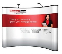 10FT Energy X Curved Pop Up Graphics Kit