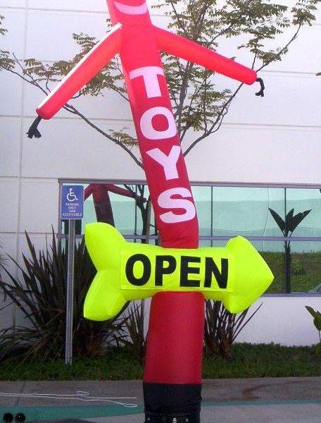 Arrow Dancer, air dancers, inflatable advertising, custom inflatables, advertising inflatables, promotional inflatables