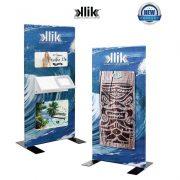 Klik Magnetic Display System Stands