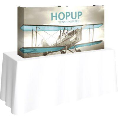 HopUp 5ft Tabletop Tension Fabric Display