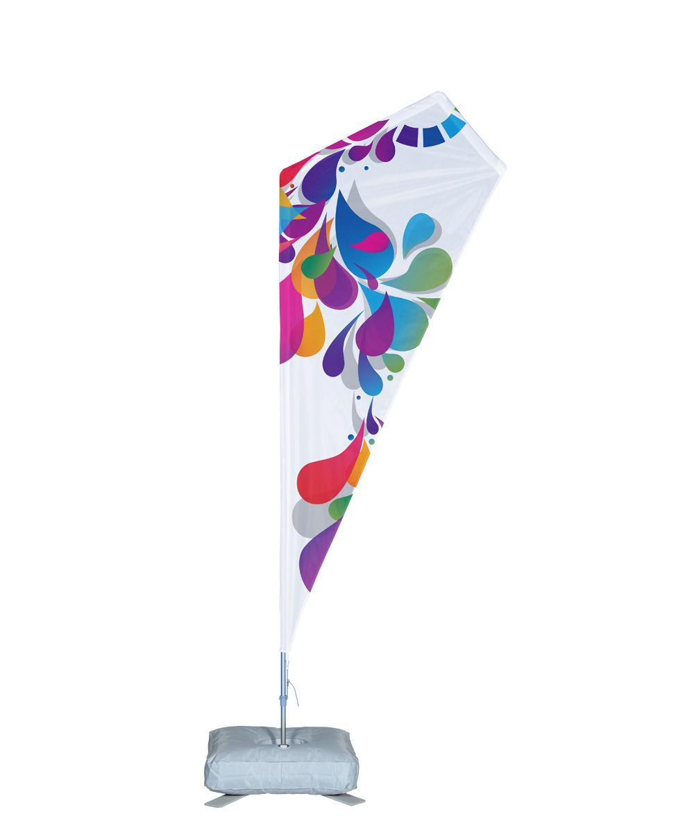 Bowflag® Plus Razor Wind Sail Banner