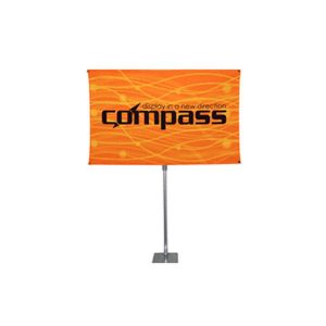 Compass Banner Stand