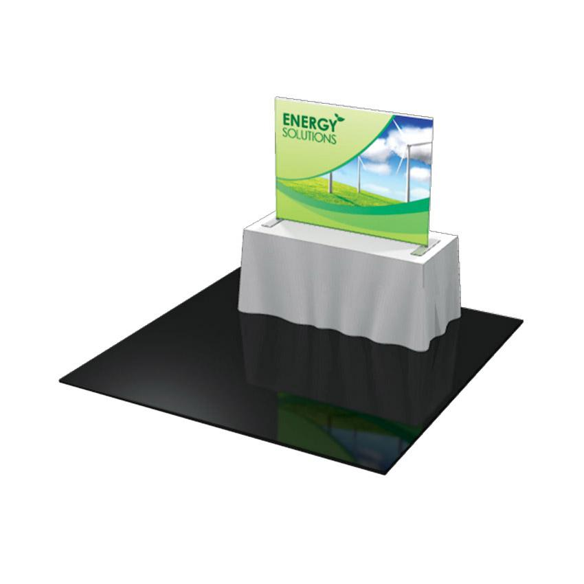 Tabletop Formulate Master 4 Straight Fabric Display Pop