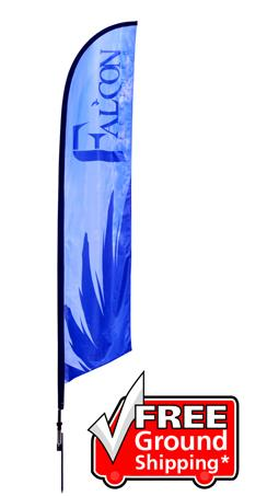 13ft. Falcon Banner Stand