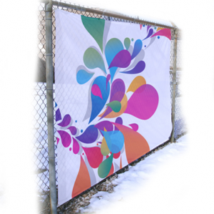 Graphic Fence Wraps, Fence Wrap, Fence Signs