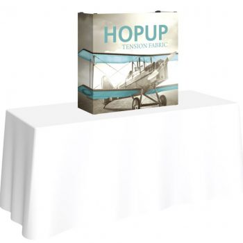 Hopup 2.5ft table top tension fabric display