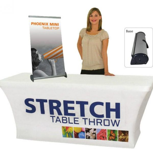 Phoenix Mini Table Top Banner Stand