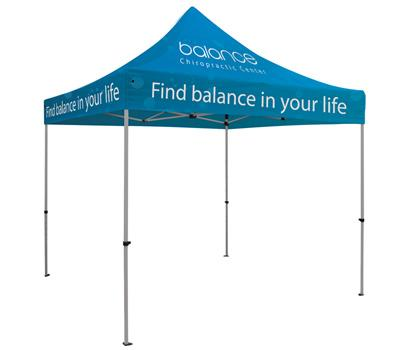 10FT Premium Showstopper Canopy Tent - Full Color