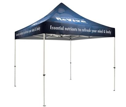 10FT Standard Showstopper Canopy Tent - Full Color