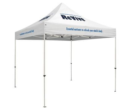 10FT Standard Showstopper Canopy Tent Imprint