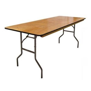 Banquet Plywood Folding Tables, Banquet Tables, Portable Table, Trade Show Table, Truss Table, Hospitality Table