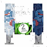 Bowflag® Premium Surfer Flag Banner