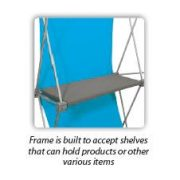 Deluxe Geometrix Fabric Display Kit F shelf